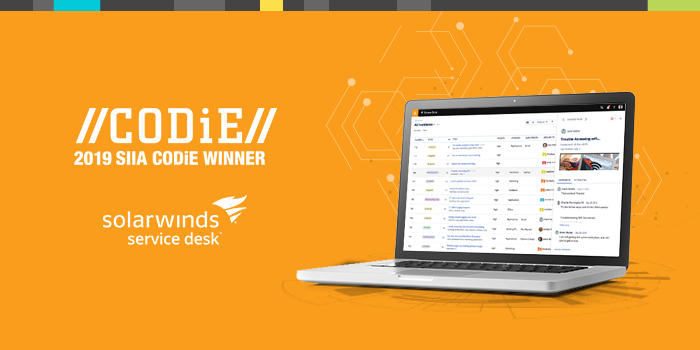 2019 SIIA CODiE Winner - Best IT Management Solution